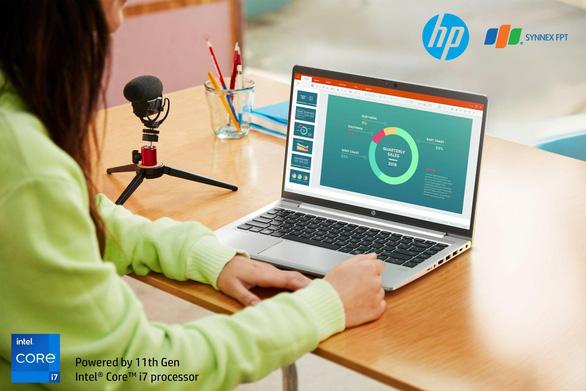 Làm việc ở nhà hiệu quả cùng HP ProBook 400 Series G8 - Ảnh 1.