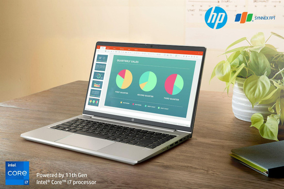 Làm việc ở nhà hiệu quả cùng HP ProBook 400 Series G8 - Ảnh 3.