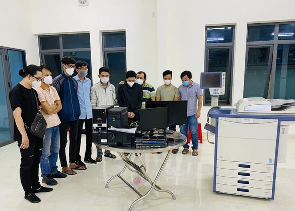 Phát hiện nhiều đường dây làm giả giấy xét nghiệm COVID-19 tại Phan Thiết - Ảnh 1.