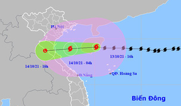 Bão số 8 đi vào đảo Hải Nam, Bạch Long Vĩ gió giật cấp 9 - Ảnh 1.