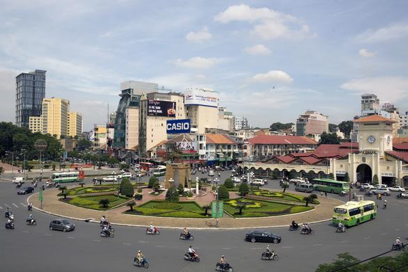 Sài Gòn - vòng xoay ký ức - Kỳ 5: Bùng binh Bến Thành và phố cổ trăm năm - Ảnh 2.
