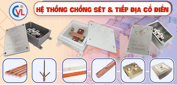 Hộp kiểm tra tiếp địa CVL chuẩn IEC 62561 được kỹ sư cơ điện tin dùng - Ảnh 1.