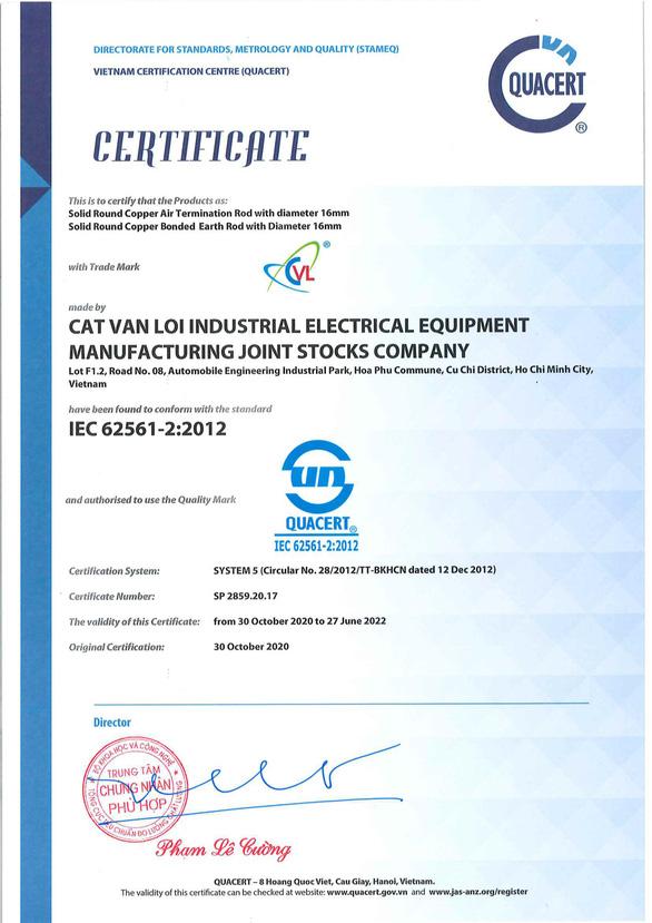 Hộp kiểm tra tiếp địa CVL chuẩn IEC 62561 được kỹ sư cơ điện tin dùng - Ảnh 2.