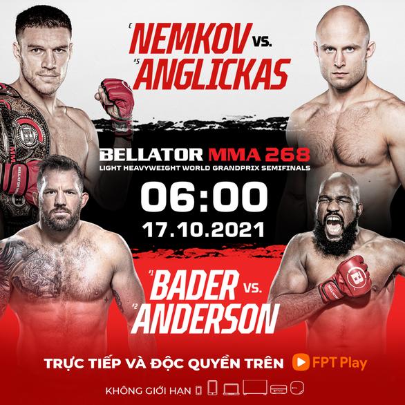 Đại hội anh hùng Bellator MMA World Grand Prix  - Ảnh 3.