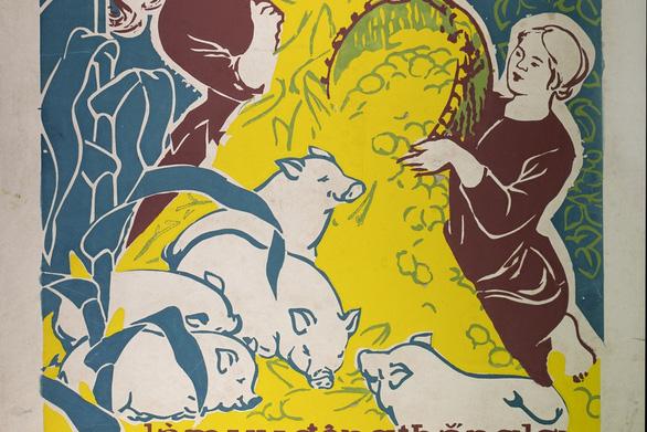 Ngắm những thân thương nghề nông trong tranh của họa sĩ nổi tiếng - Ảnh 4.