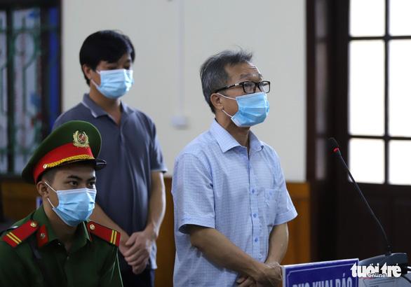 Tiếp tục dừng phiên tòa xét xử các bị cáo liên quan dự án trại bò Bình Hà - Ảnh 1.