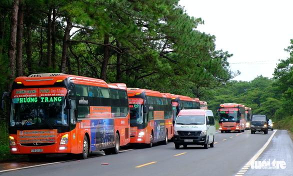Phú Yên, Đắk Nông nối lại vận tải hành khách với một số tỉnh, thành - Ảnh 1.