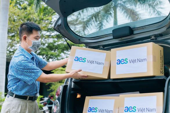 AES Việt Nam trao tặng 1.000 bộ xét nghiệm nhanh COVID-19 tại tỉnh Bình Thuận - Ảnh 1.