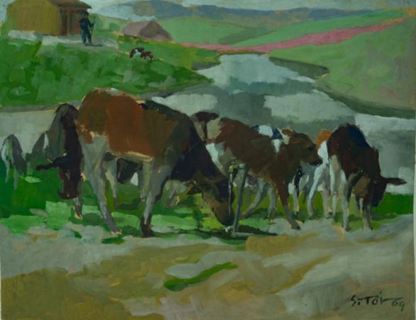 Ngắm những thân thương nghề nông trong tranh của họa sĩ nổi tiếng - Ảnh 6.
