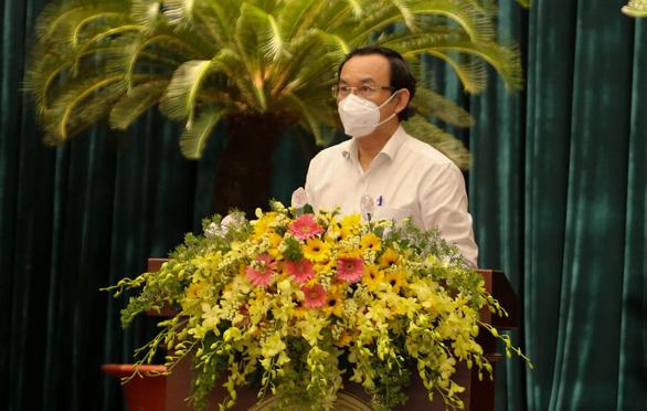 Bí thư Nguyễn Văn Nên: Nghiên cứu tổ chức lễ cầu siêu cho đồng bào, cán bộ, chiến sĩ mất vì COVID-19 - Ảnh 1.