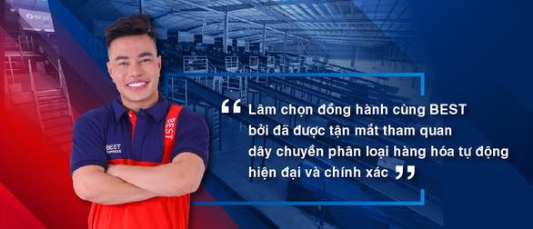 Sao Việt tin chọn BEST Express khi kinh doanh online - Ảnh 2.