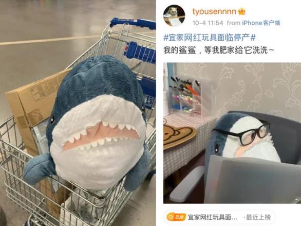 Hàng chục triệu dân mạng phát sốt vì sợ mất chú cá mập xanh nhồi bông - Ảnh 2.