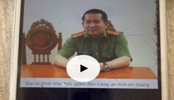 Công an vào cuộc vụ file ghi âm cắt ghép của đại tá Đinh Văn Nơi - Ảnh 1.
