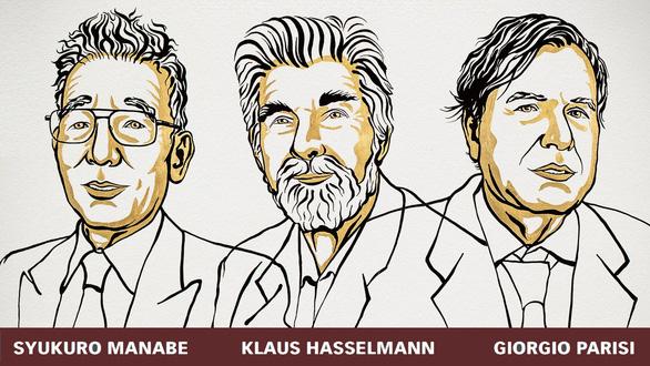 Nobel vật lý 2021: 3 thập kỷ cho một công trình vĩ đại - Ảnh 1.