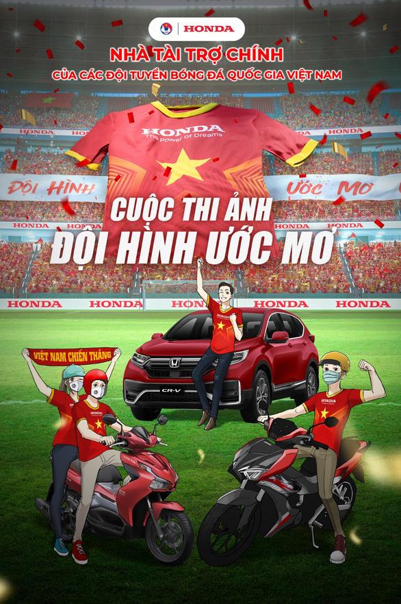 Honda kiến tạo Đội hình ước mơ, đồng hành cùng bóng đá Việt - Ảnh 2.