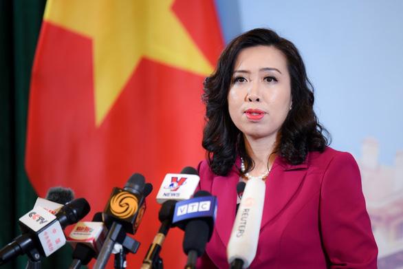 Việt Nam lên tiếng về dự luật Mỹ trừng phạt Trung Quốc liên quan Biển Đông - Ảnh 1.