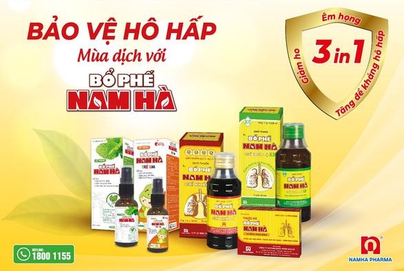 Bổ phế Nam Hà tặng 21.000 sản phẩm hỗ trợ F0 điều trị tại nhà - Ảnh 4.