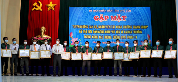 Phú Yên: Hơn 70 ngày, đưa 16.772 người từ TP.HCM và phía Nam về quê - Ảnh 2.