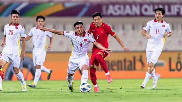 Tuyển Việt Nam thua Trung Quốc 2-3 ở vòng loại World Cup 2022 - Ảnh 1.