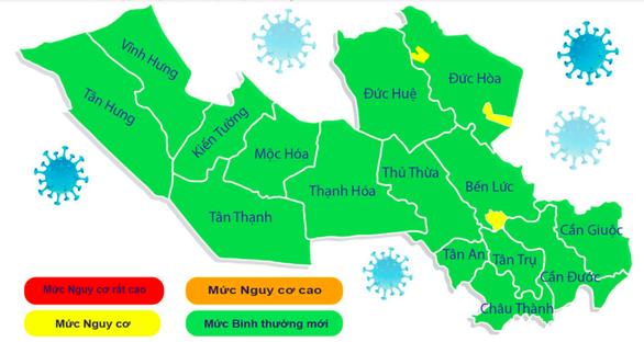 Toàn bộ 15 huyện, thị xã, thành phố tại Long An đã hóa vùng xanh - Ảnh 1.