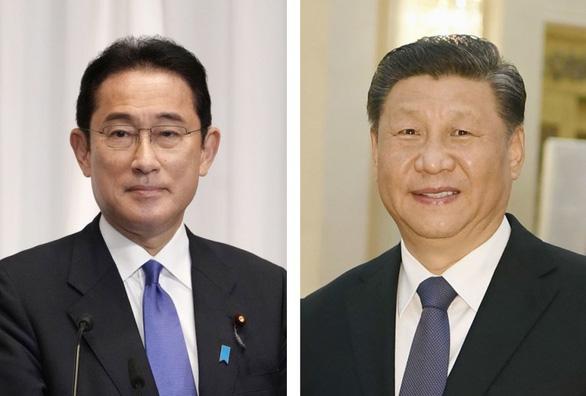 Chủ tịch Trung Quốc và thủ tướng Nhật trao đổi về vấn đề Đài Loan - Ảnh 1.