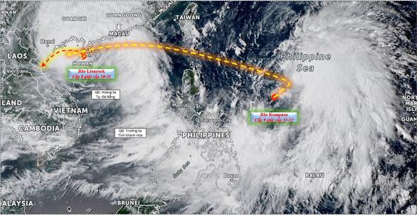 Nguy cơ bão chồng bão, người dân hạn chế về quê trong 10 ngày tới - Ảnh 2.