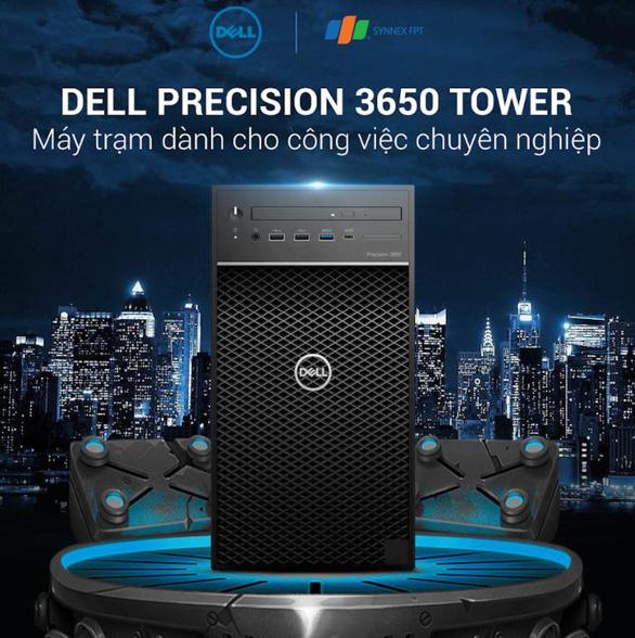 Cỗ máy kiếm tiền Dell Precision 3650 Tower dân thiết kế không bỏ lỡ - Ảnh 1.