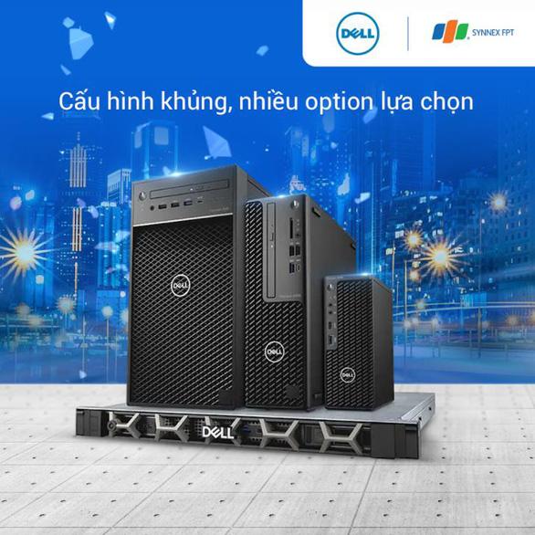 Cỗ máy kiếm tiền Dell Precision 3650 Tower dân thiết kế không bỏ lỡ - Ảnh 2.