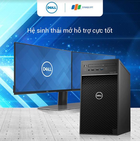 Cỗ máy kiếm tiền Dell Precision 3650 Tower dân thiết kế không bỏ lỡ - Ảnh 4.