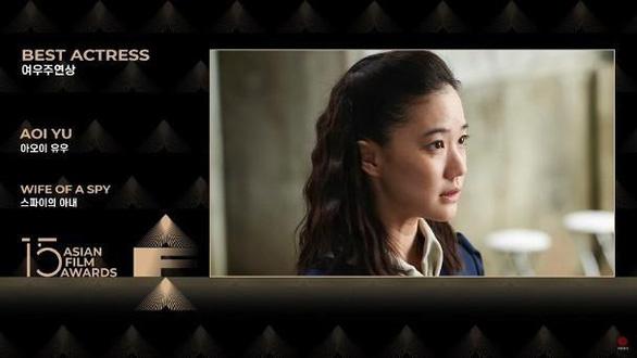 Trương Nghệ Mưu, Yoo Ah In, Aoi Yu… đoạt Giải thưởng điện ảnh châu Á lần thứ 15 - Ảnh 7.