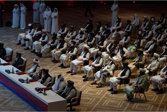 Mỹ và Taliban lần đầu tổ chức hội đàm cấp cao - Ảnh 1.