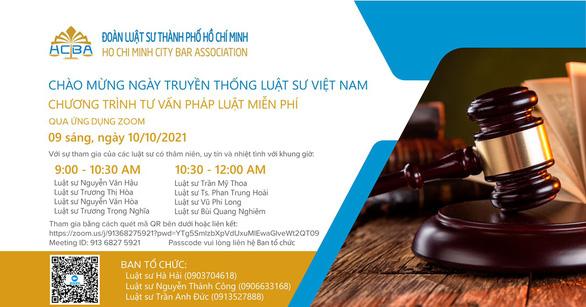 Ngày 10-10: Nhiều luật sư cùng giải đáp vấn đề an sinh xã hội miễn phí cho người dân - Ảnh 1.