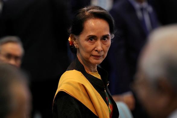 Ngoại trưởng Mỹ kêu gọi quân đội Myanmar thả bà Aung San Suu Kyi - Ảnh 1.