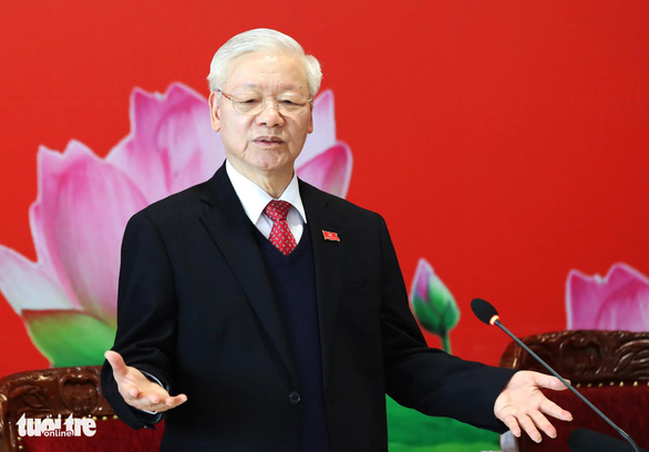 Tổng bí thư, Chủ tịch nước: Tôi xin nghỉ nhưng Đại hội bầu, đảng viên phải chấp hành - Ảnh 1.