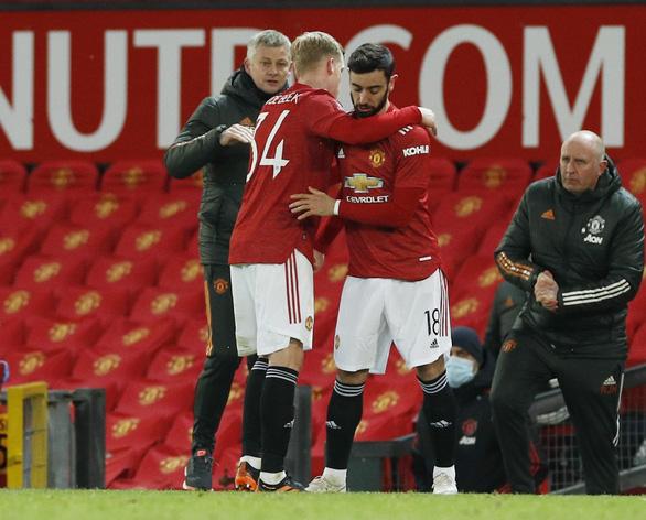 McTominay tỏa sáng trong hiệp phụ, Man Utd thắng nhọc nhằn West Ham ở Cúp FA - Ảnh 3.