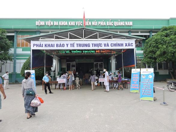 Quảng Nam bắt buộc tất cả người dân các nơi về khai báo y tế - Ảnh 1.