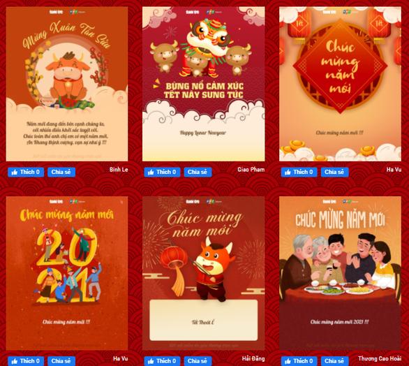 Cùng gửi gắm mong ước năm mới qua cánh thiệp xuân của Tuổi Trẻ Online - Ảnh 1.