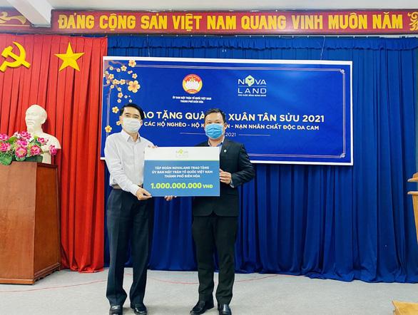Nova Group đồng hành cùng hộ nghèo, nạn nhân chất độc da cam tỉnh Đồng Nai - Ảnh 1.