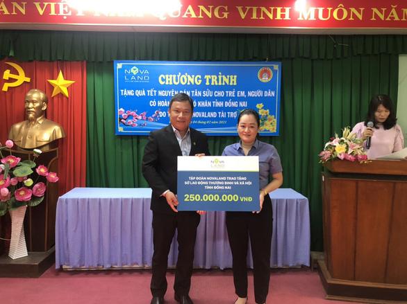 Nova Group đồng hành cùng hộ nghèo, nạn nhân chất độc da cam tỉnh Đồng Nai - Ảnh 4.