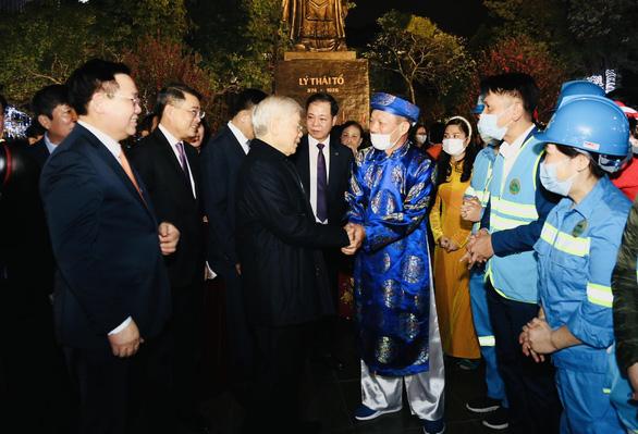 Tổng bí thư, Chủ tịch nước Nguyễn Phú Trọng: 'Năm nay Hà Nội phải càng thắng to' - Ảnh 2.