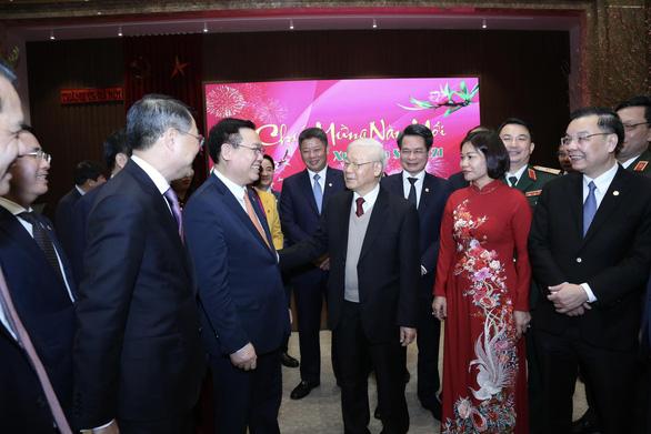 Tổng bí thư, Chủ tịch nước Nguyễn Phú Trọng: 'Năm nay Hà Nội phải càng thắng to' - Ảnh 1.