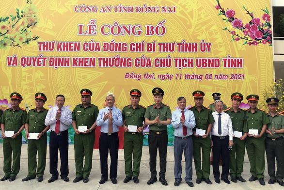 Phá vụ pha chế 2,7 triệu lít xăng giả: Công an Đồng Nai nhận thư khen - Ảnh 1.