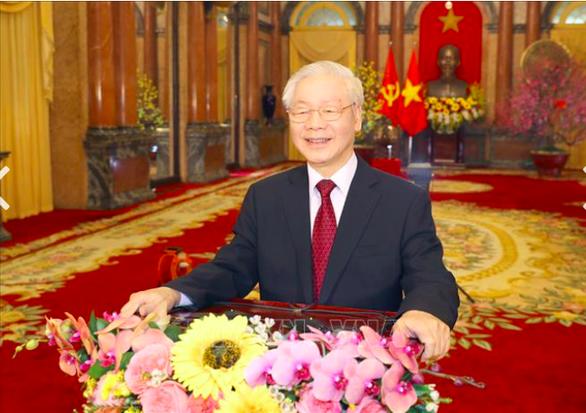 Tổng Bí thư, Chủ tịch nước Nguyễn Phú Trọng chúc Tết Tân Sửu 2021 - Ảnh 1.