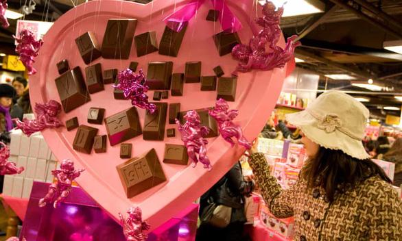 Nam giới Nhật hết thời khi giri choco ngày Valentine ở Nhật trên bờ tuyệt chủng - Ảnh 3.