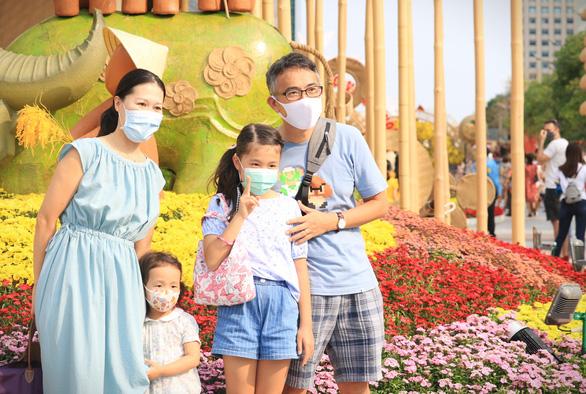 Kéo dài thời gian mở cửa đường hoa Nguyễn Huệ đến mùng 5 Tết - Ảnh 1.