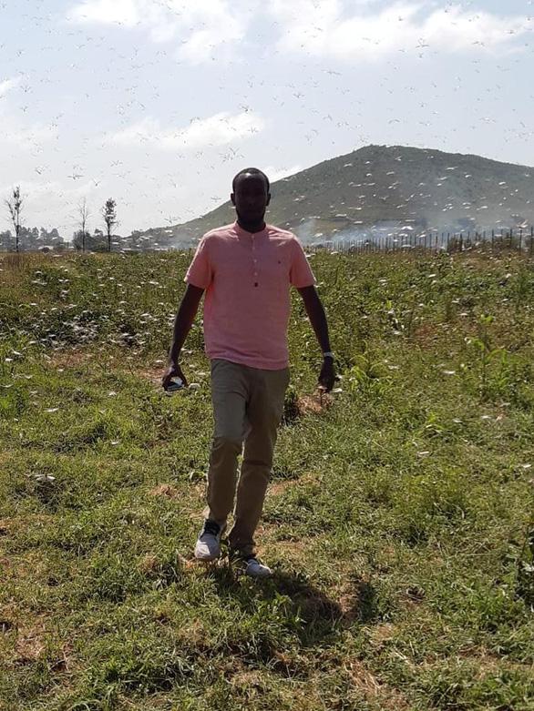 Theo chân đặc nhiệm chống loại châu chấu phá sạch, ăn sạch ở Kenya - Ảnh 5.