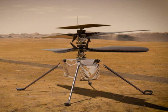 Trực thăng NASA bay trên sao Hỏa cách nào? - Ảnh 1.