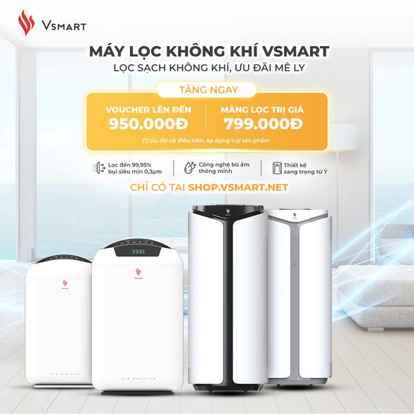 VinSmart trình làng máy lọc không khí và giải pháp quản lý nhà thông minh cho gia đình Việt - Ảnh 1.