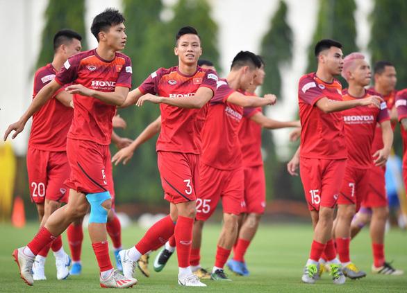 Đội tuyển Việt Nam đá tập trung vòng loại thứ 2 World Cup 2022 - Ảnh 1.
