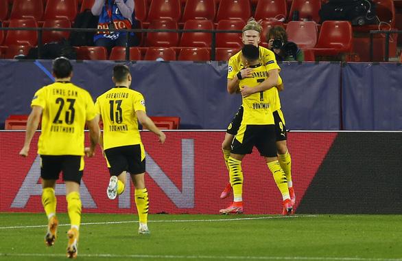 Haaland lập cú đúp, Dortmund thắng ngược Sevilla tại Tây Ban Nha - Ảnh 3.